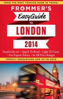 Frommer's Easyguide to London