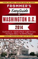 Frommer's Easyguide To Washington, D.C