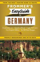 Frommer's Easyguide to Germany