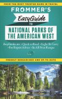 Frommer's Easyguide to National Parks of the American West