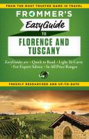 Frommer's EasyGuide to Florence & Tuscany