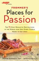 Frommer's Places for Passion