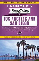 Frommer's Easyguide to Los Angeles & San Diego