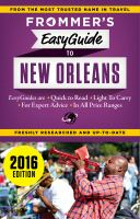Frommer's Easyguide to New Orleans