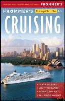 Frommer's Easyguide to Cruising
