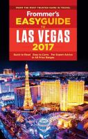 Frommer's Easyguide to Las Vegas 2017