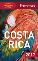 Frommer's Costa Rica, 2017