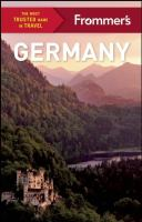 Frommer's Germany, [2017]