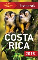 Frommer's Costa Rica 2018