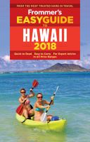 Frommer's Easyguide to Hawaii, 2018