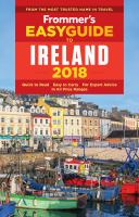 Frommer's Easyguide to Ireland, 2018
