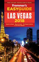 Frommer's Easyguide to Las Vegas, 2018
