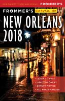 Frommer's Easyguide to New Orleans, 2018