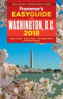 Frommer's Easyguide to Washington, D.C., 2018