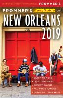 Frommer's Easyguide to New Orleans, 2019