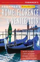Frommer's Easyguide to Rome, Florence and Venice