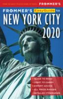 Frommer's Easyguide to New York City 2020