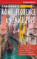 Frommer's Easyguide to Rome, Florence & Venice 2020