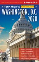 Frommer's Easyguide to Washington, D.C., 2020
