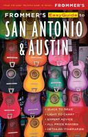 Frommer's Easyguide to San Antonio & Austin