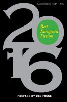 Best European Fiction 2016
