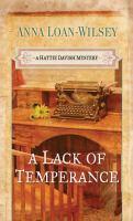 A Lack of Temperance
