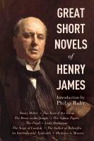Great Short Novels of Henry James