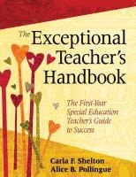 The Exceptional Teacher's Handbook