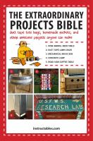 The Extraordinary Projects Bible