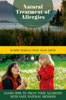 Natural Treatment of Allergies
