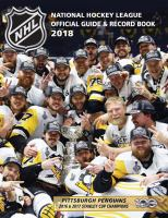 The National Hockey League Official Guide & Record Book 2018