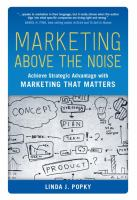 Marketing Above the Noise