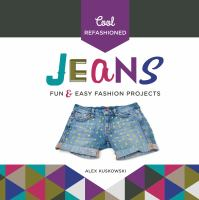 Cool Refashioned Jeans