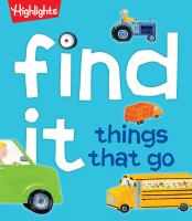 Find It, Things That Go