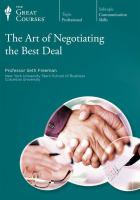 The Art of Negotiating of the Best Deal