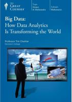 Big Data : How Data Analytics Is Transforming the World