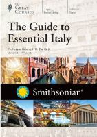 The Guide to Essential Italy