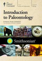 Introduction to Paleontology