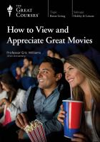 How to View and Appreciate Great Movies (DVD)