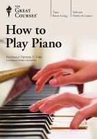 How to Play Piano (DVD)