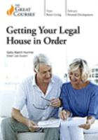 Getting your Legal House in Order