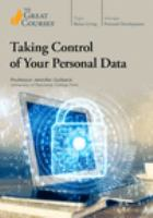 Taking Control of your Personal Data
