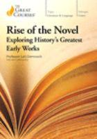 Rise of the Novel