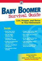 Da Vinci's Baby Boomer Survival Guide