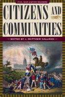 Citizens and Communities
