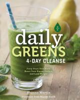 Daily Greens 4-day Cleanse