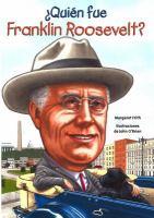 Quién fue Franklin Roosevelt?