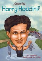 Cover image for ¿Quién fue Harry Houdini?