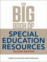 The Big Book of Special Education Resources