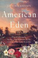 Cover of American Eden: David Hosac